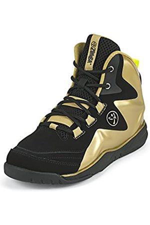 Zumba Fitness Zumba Aktiv Energy Boom High Top Sneakers Tanztraining Workout Tanzschuhe Damen, Metallic/Black
