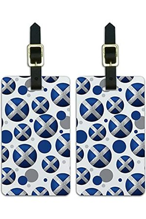 Graphics and More Graphics & More Futbol Fußball Country z-Scotland Flagge - Luggage.Tags.09838
