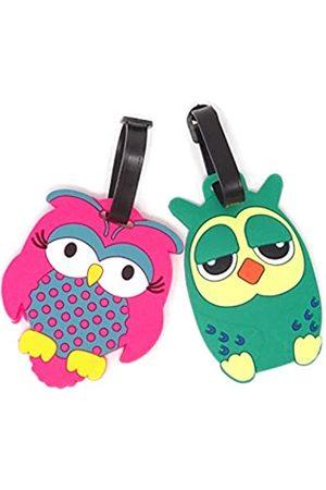 HONBAY OWL-Luggage-Tags-2, Unisex