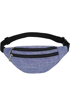 YUNGHE Hüfttasche für Damen und Herren – wasserdichte Bauchtasche mit verstellbarem Gurt für Workout, Reisen
