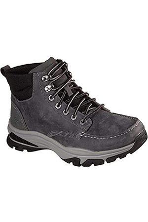 Skechers Herren Ralcon-Top Point Low Profile Leather Lace Up Boot Wanderstiefel
