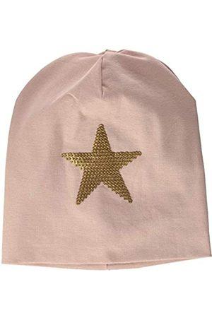 Green Cotton Mädchen Star Beanie Hat