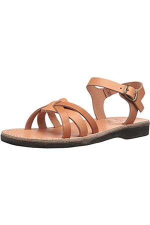 Jerusalem Sandals Miriam Flache Damen-Sandalen, Beige (hautfarben)