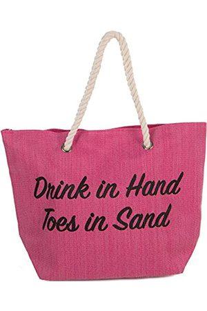 Funky Junque Damen Strandtasche mit Spruch