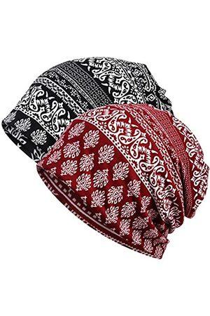 meaiguo Damen-Beanie-Mütze mit Unendlichkeitssymbol - - Einheitsgröße