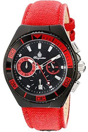 Burgmeister Armbanduhr für Herren mit Analog Anzeige, Quarz-Uhr und Textil Armband - Wasserdichte Herrenarmbanduhr mit zeitlosem