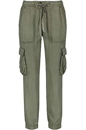 Taifun Damen Cargo-Hose aus Lyocell Lounge Pants TS lässige Passform 34