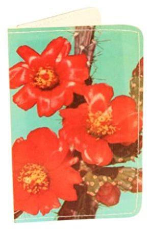 11.11 Unternehmen Kartenetui Kaktusblüte für Visitenkarten