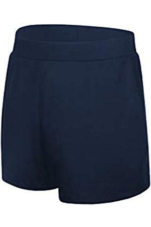 JINXUEER Damen Übergröße Floral Board Shorts Bikini Tankini Badeanzug Bottom Mid Waist Bademode mit Boy-Bein - - 42