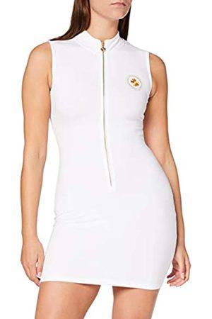 Gianni Kavanagh Damen White Nautical Winners Zip Dress Lässiges Kleid