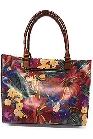Patricia Nash Damen Handtaschen - Leder-Handtasche mit Sommerblumen