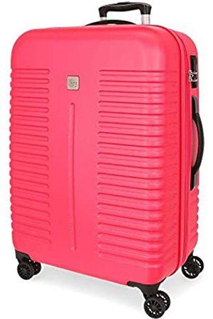 Roll Road India Mittlerer Koffer 48x70x27 cms Hartschalen ABS Kombinationsschloss 75L 3