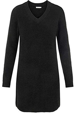 Pieces Female Kleid V-Ausschnitt Strick XLBlack