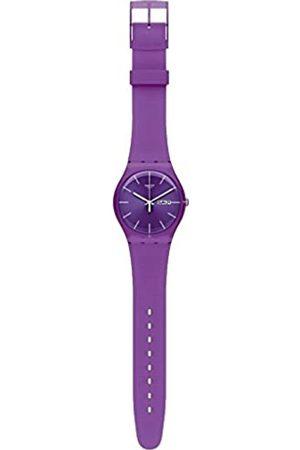 Swatch Damen-Armbanduhr Analog Quarz SUOR703