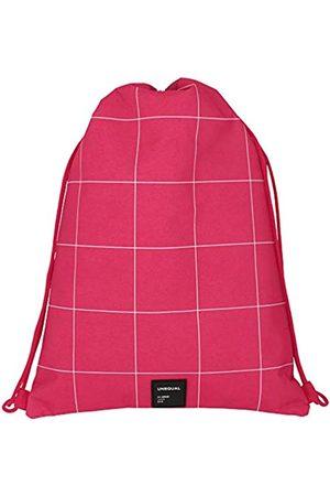 Grafoplas Grafoplas 37610754 Kordeltasche mit Außentasche mit Reißverschluss. Pink. Einheitsgröße.