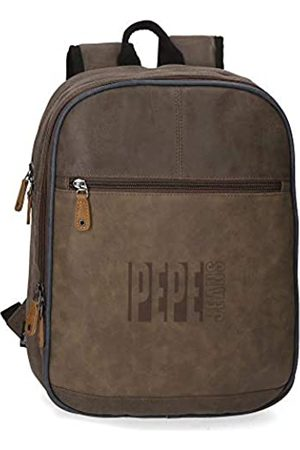 Pepe Jeans Max Anpassbarer Laptop-Rucksack 27x36x12 cms Synthetisches Leder 13