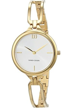 Danish Design Damen Analog Quarz Uhr mit Edelstahl beschichtet Armband 3320215