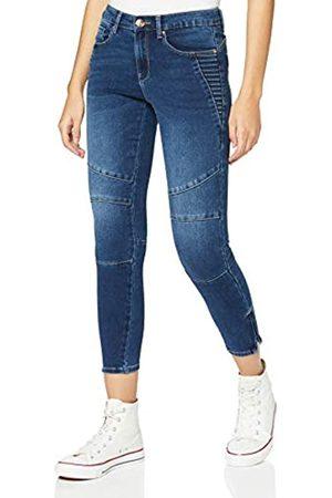 ONLY Damen ONLROYAL Life REG SK BIKR Zip ANK GUA Jeans