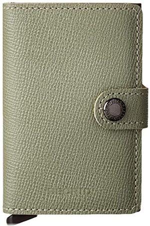 Secrid Crisple Miniwallet Börse mit RFID Schutz 6.5 cm Pistachio floral