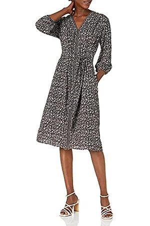 Max Studio Damen Long Sleeve Dress Kleid