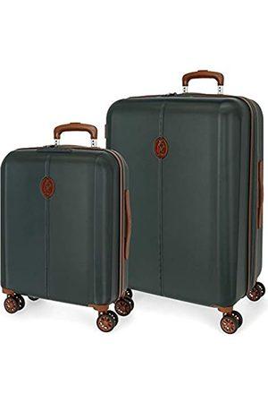 El Potro Ocuri Kofferset 55/70 cms Hartschalen ABS TSA-Schloss 118L 4 Doppelräder Handgepäck