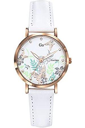 GO Girl Only Damen Analog Quarz Uhr mit Leder Armband 699178