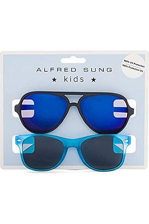 Alfred Sung Kinder-Sonnenbrille für Jungen, UV-400-Schutz