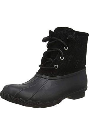 Sperry Damen Saltwater Mode-Stiefel, Black