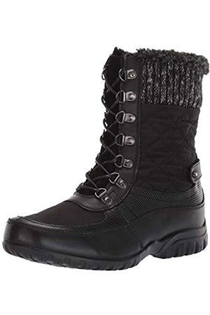 Propet Propet Women's Delaney Frost Snow Boot, Black