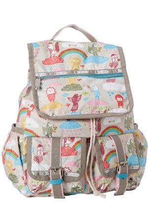 LeSportsac Rucksack mit zwei Taschen, Beige (Cloud Rider)