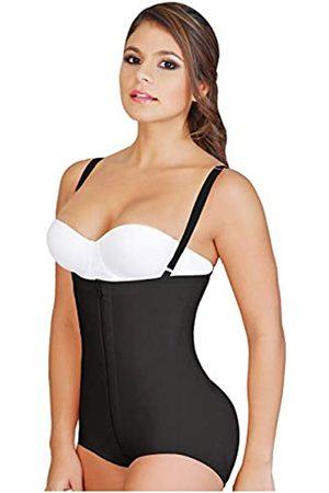 FAJAS SALOME Fajas Colombianas Damen Body Shaper Salome Levanta Cola y Trägerlos 0414 - - X-Small