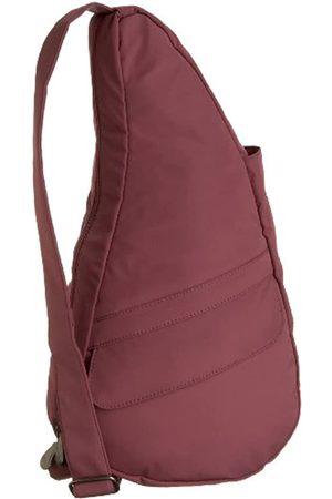 AmeriBag Rucksack, klein, klassisch, Mikrofaser, Pink (mauve)