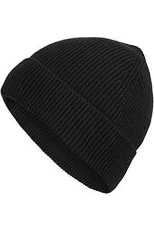 LilySilk Strickmütze aus 100 % Seide, atmungsaktiv, lockiges Haar, dünn, für Damen und Herren, Stretch, Totenkopf-Mütze, weich