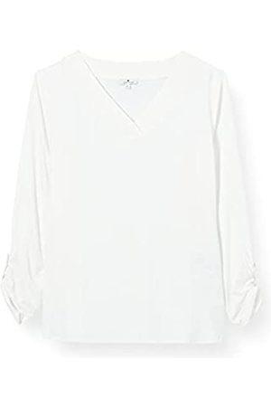 TOM TAILOR Damen 1025279 Longsleeve T-Shirt, 10315-Whisper White
