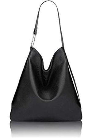 QUEENSHOW 2020 Fashion Casual Weiches PU-Leder Handtasche Hobo Bag Tote Bag Schultertasche für Damen - - Medium