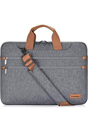 LONMEN Laptop-Schultertasche für 17,3 Zoll (43,9 cm)