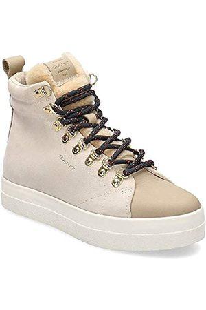 GANT FOOTWEAR AURORA, Damen Hohe Sneaker, (putty cream G27)