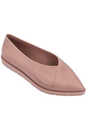 Zaxy Damen Ballerinas aus Seide, Pink (rose)