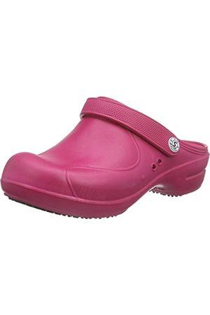 Sanita Workwear Damen Aero-Stride Clogs, Pink (Pink 13)