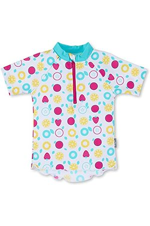 Sterntaler Baby - Mädchen Kurzarm-Schwimmshirt, UV-Schutz 50+, Alter: 6-12 Monate, Größe: 74/80