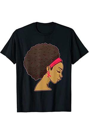 Wowsome! Damen T-Shirts, Polos & Longsleeves - Breast Cancer Black Women Awareness T-Shirt T-Shirt