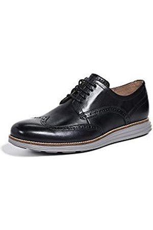 Cole Haan Herren Original Grand Shortwing Oxford Schuh, (Schwarzes Leder/Eisenstein)