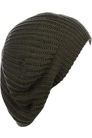 Accessory Necessary Ein Herbst Winter Strickmütze Baskenmütze für Frauen weiches Strickfutter viele Stile - Gr�n - Einheitsgröße