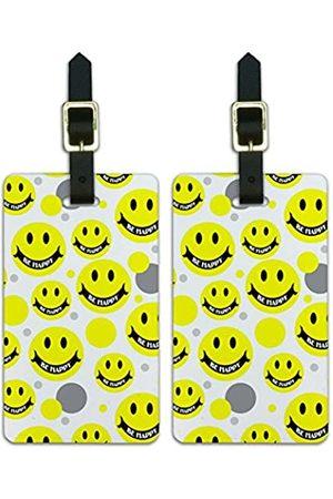 Graphics and More Graphics & More Gepäckanhänger mit Smiley-Motiv - Luggage.Tags.09376