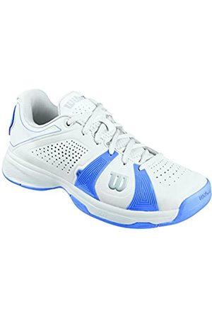 Wilson Damen Rush Sport Woman Tennisschuhe, Mehrfarbig (White/White/Peri Blue)