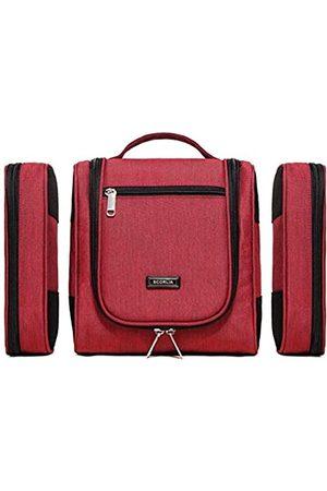 Scorlia 3-in-1-Reise-Make-up-Tasche zum Aufhängen, extra groß, mit 2 herausnehmbaren Aufbewahrungstaschen für Frauen, Männer und Babys, wasserdichte Tasche für Rasierset, Badezimmer