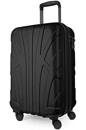 SUITLINE Handgepäck Bordgepäck Koffer mit Laptoptasche und Erweiterung, Business Trolley, TSA, 55 cm, ca. 38 Liter