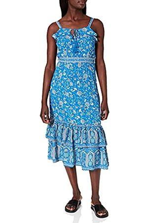 Springfield Damen Vestido MIDI Halter Kleid