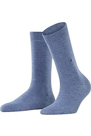 Burlington Damen Lady W SO Socken, 1er Pack, (Light Jeans 6662