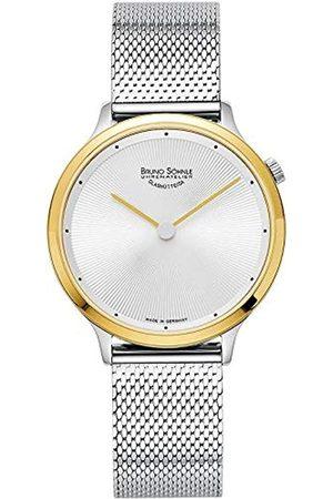 Soehnle Bruno Söhnle Damen Analog Quarz Uhr mit Edelstahl Armband 17-23213-250